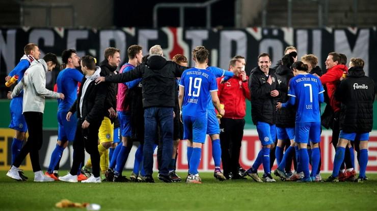 """Puchar Niemiec: Holstein Kiel po raz pierwszy w historii w półfinale. """"Sen trwa nadal"""""""