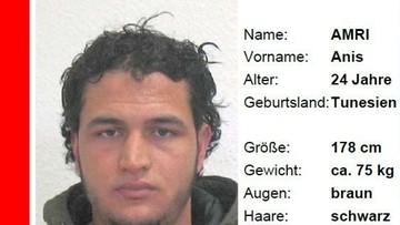 Przez Francję do Włoch uciekł Tunezyjczyk podejrzany o zamach w Berlinie. Jest na nagraniach monitoringu