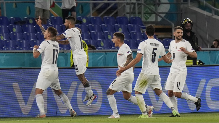 Euro 2020: Turcja - Włochy. Historyczne zwycięstwo w meczu otwarcia