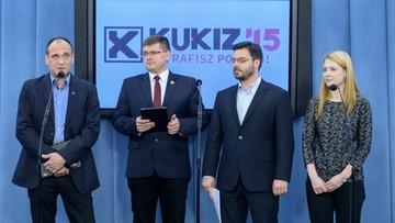 Kukiz'15 chce zmian w konstytucji dotyczących TK