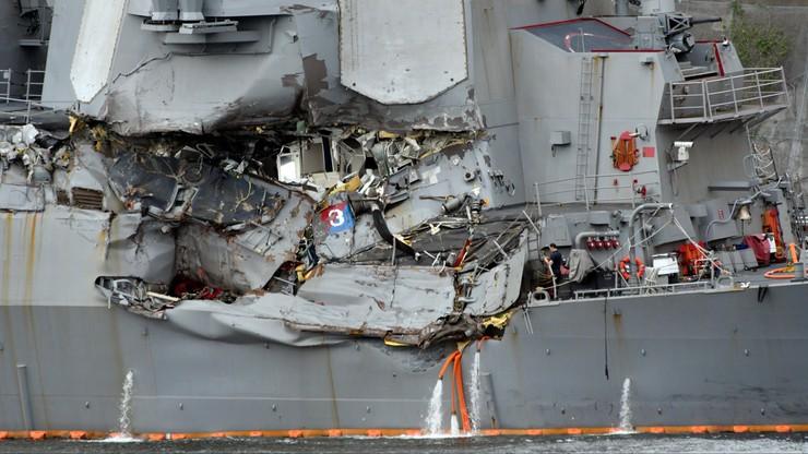 Japonia: załoga kontenerowca zwlekała z informacją o uderzeniu w USS Fitzgerald
