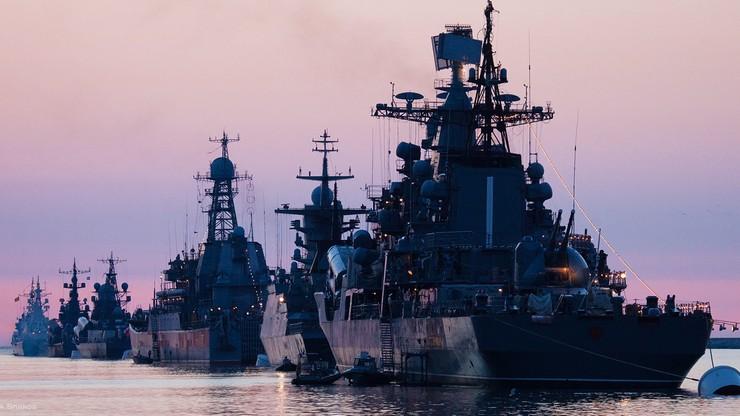Ponad 20 rosyjskich okrętów wojennych na Morzu Czarnym