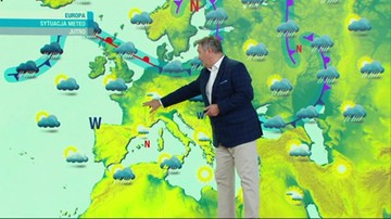 Prognoza pogody - piątek, 24 września - popołudnie