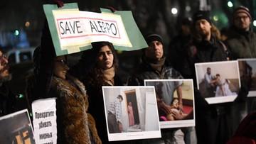Ponad czterystu cywilów uciekło z Aleppo