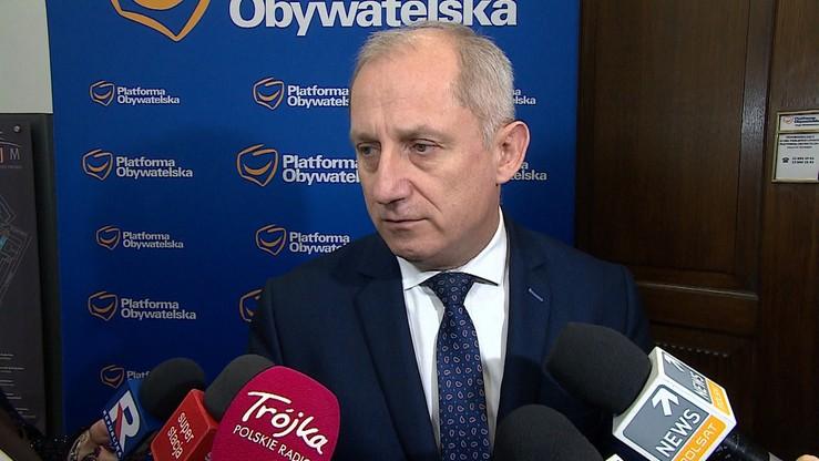 Prokuratura ustanowiła Neumannowi zabezpieczenie na pół miliona złotych. Poseł złożył zażalenie