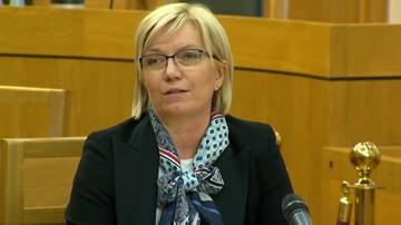 Przyłębska: jeśli sędziowie chcą kontynuacji sprawy Morawskiego - niech złożą wniosek