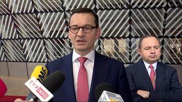 Morawiecki: nie ma przymusowych relokacji uchodźców; to gigantyczny sukces Polski