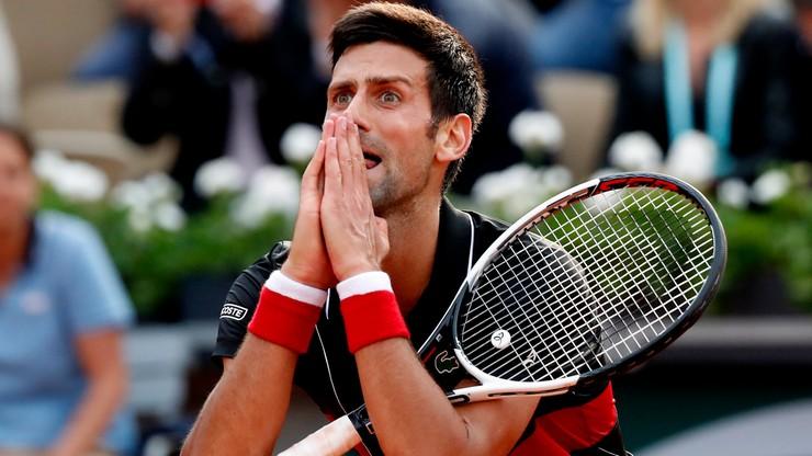 French Open: Cecchinato wyeliminował Djokovica w ćwierćfinale