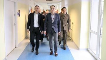 Prezydent odwiedził w szpitalu rannego pilota