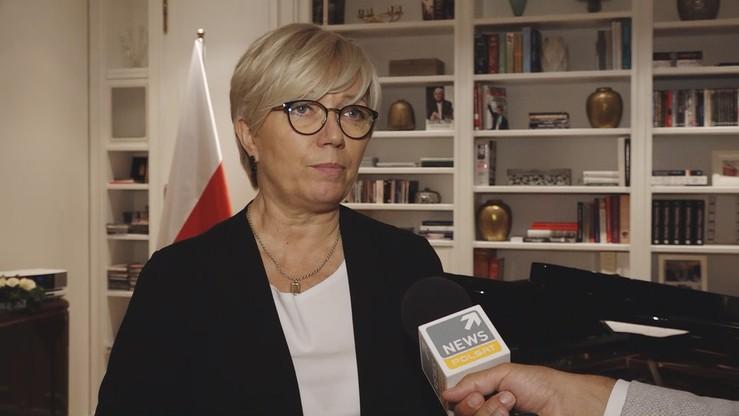 Przyłębska: krytyczne oceny polskiego wymiary sprawiedliwości są zbyt daleko idące