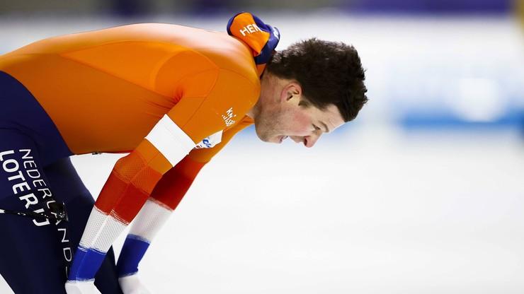 MŚ w łyżwiarstwie szybkim: Sven Kramer wycofał się z wyścigu drużynowego