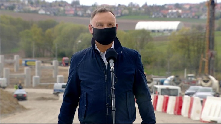 Prezydent: Północna Obwodnica Krakowa oczekiwaną inwestycją