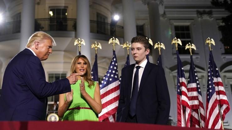 Najmłodszy syn Donalda Trumpa miał koronawirusa