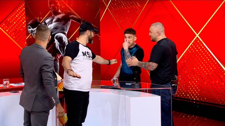 KSW 53: Awantura w studiu Polsatu Sport! Mateusz Gamrot chce przejąć wypłatę Normana Parke'a