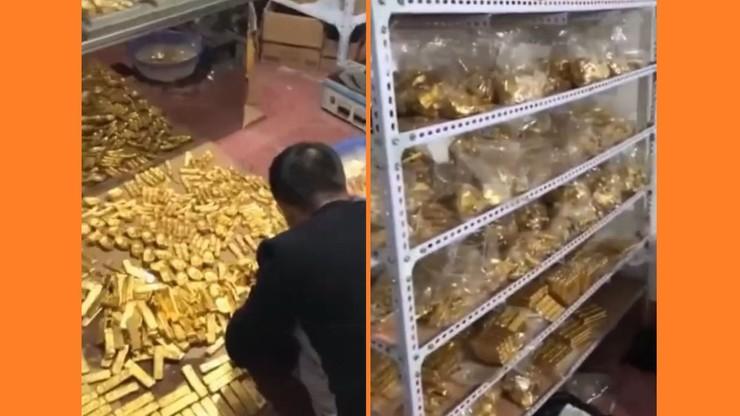 Służby antykorupcyjne zeszły do piwnicy urzędnika. A tam... 13 ton złota i 34 mld euro [WIDEO]