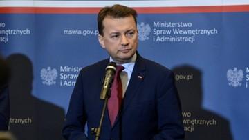 Błaszczak: kierowca samochodu premier Szydło chciał uniknąć tragedii
