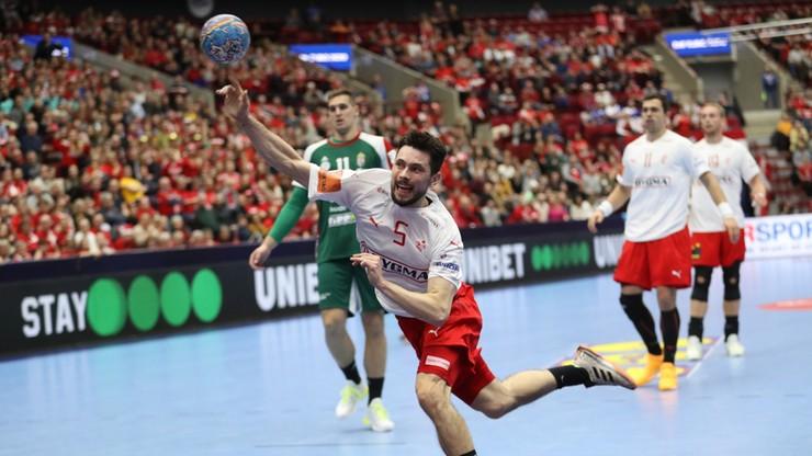 EHF Euro 2020: Duńczycy uratowali w końcówce jeden punkt