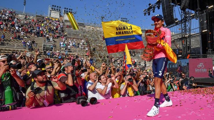 Zwycięzca Giro d'Italia nie dostał wizy. Grupa Movistar osłabiona
