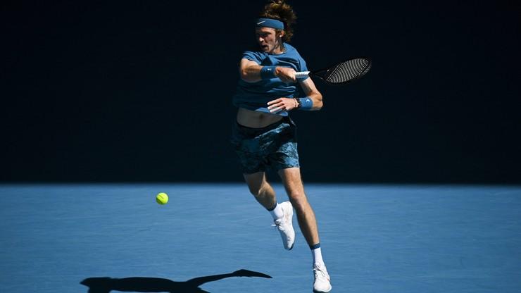 Australian Open: Daniił Miedwiediew - Andriej Rublow. Relacja i wynik na żywo
