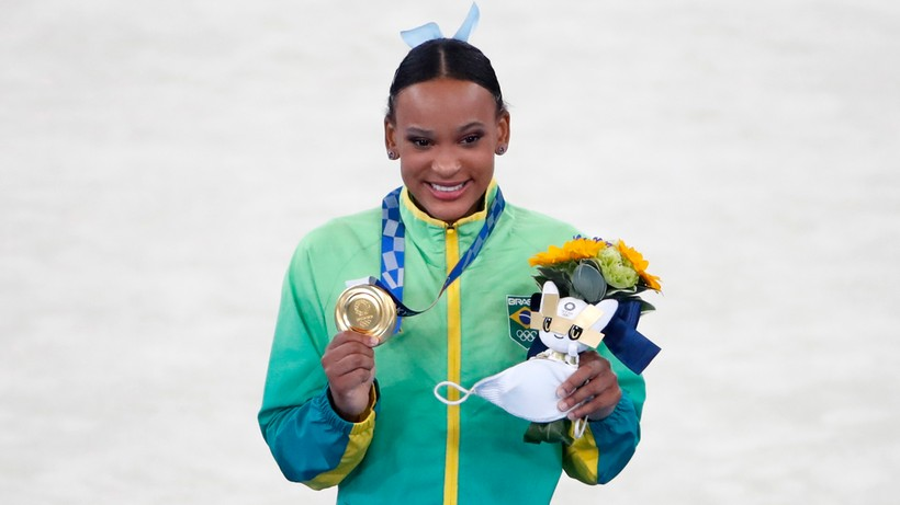 Tokio 2020: Brazylijka złotą medalistką w skoku
