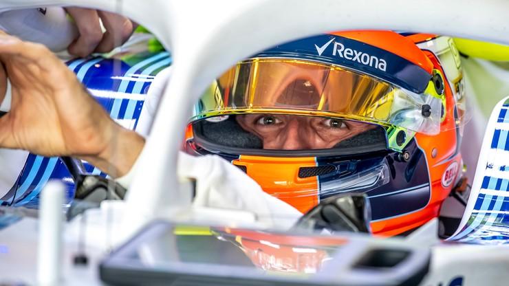 Formuła 1: Kubica ósmy w środowych testach w Abu Zabi