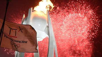 Zapłonął znicz olimpijski. Zimowe igrzyska w Pjongczangu oficjalnie otwarte