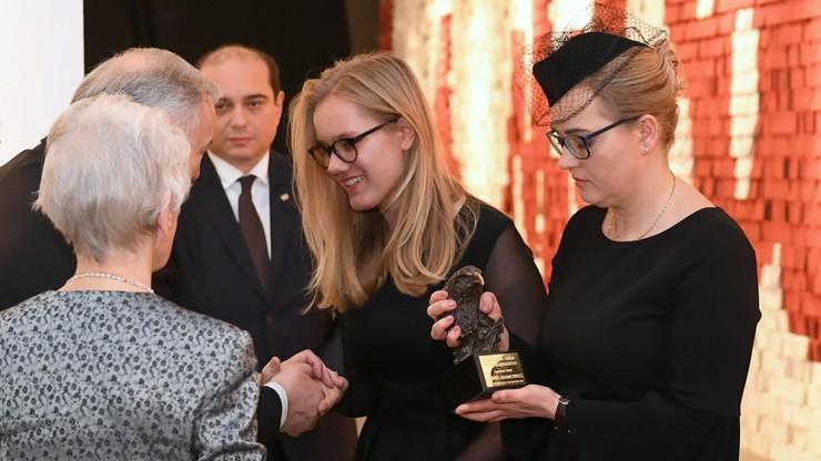 Nagroda Orła Jana Karskiego dla Pawła Adamowicza. Odebrała ją żona zamordowanego prezydenta