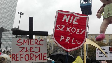"""""""Nie dla chaosu w szkole"""". ZNP rozpoczyna ogólnopolską akcję protestacyjną"""