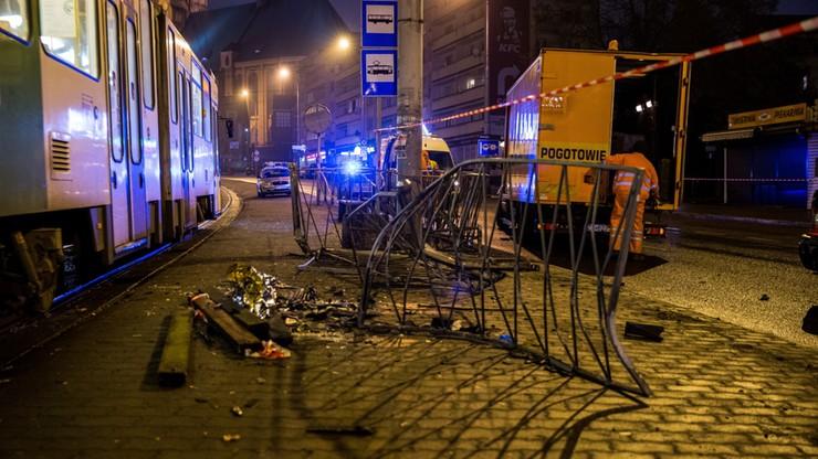 Szczecin: zarzut dla kierowcy, który wjechał w przystanek