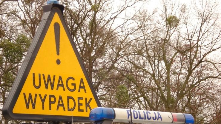 9 osób rannych w wypadku na Mazowszu