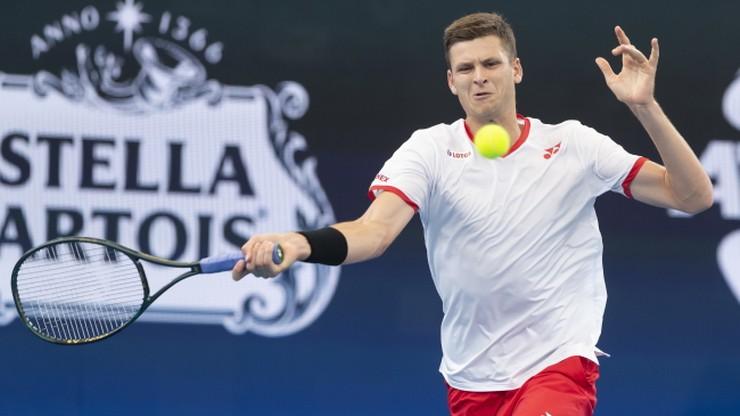 Ranking ATP: Awans Hurkacza, dwóch Polaków w TOP 100