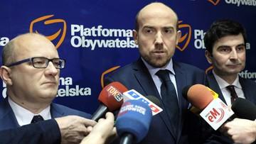PO zawiadamia prokuraturę ws. podejrzenia korupcji politycznej m.in. przez radnego Kałużę