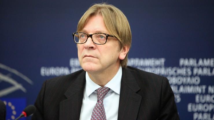 "Politico: Verhofstadt uwikłany w aferę ""Paradise Papers"""