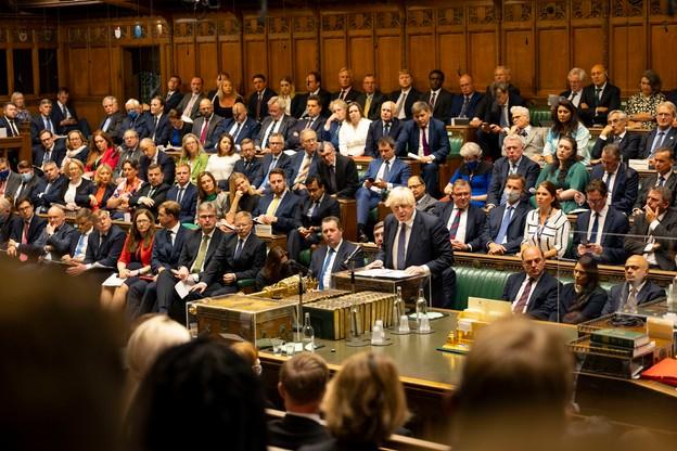 Premier Wielkiej Brytanii w trakcie debaty o kryzysie w Afganistanie