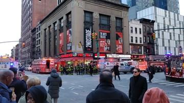 Wybuch na dworcu autobusowym na Manhattanie. Nowojorska policja: zatrzymano jedną osobę