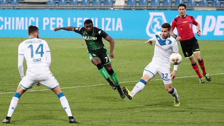 W ostatnim meczu Serie A w marcu Sassuolo lepsze od Brescii