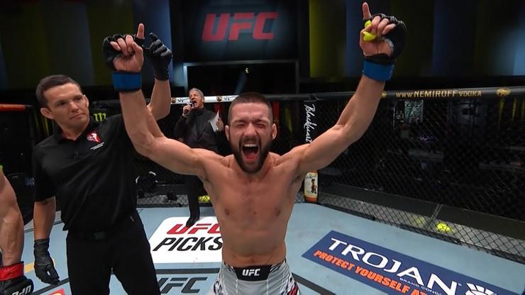 UFC: Mateusz Gamrot - Jeremy Stephens oficjalnie w karcie walk