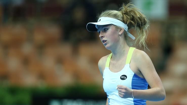 WTA w Lyonie: Magdalena Fręch przeszła eliminacje i dołączyła do Katarzyny Kawy