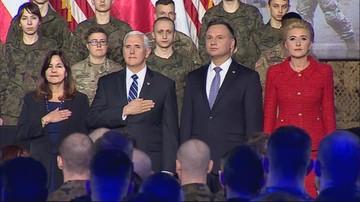 Wiceprezydent USA w Polsce. Podpisano umowę na wyrzutnie HIMARS