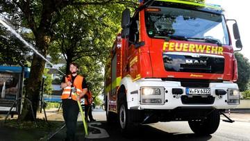 W Niemczech taka susza, że strażacy muszą podlewać w miastach drzewa