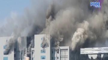 Wielki pożar w zakładzie produkującym szczepionki. Nie żyje 5 osób
