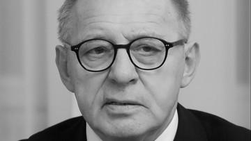 Zmarł sędzia Trybunału Konstytucyjnego prof. Lech Morawski