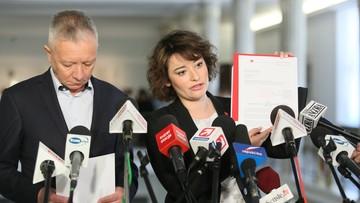 Politycy SLD złożyli w Sejmie projekt ustawy o związkach partnerskich