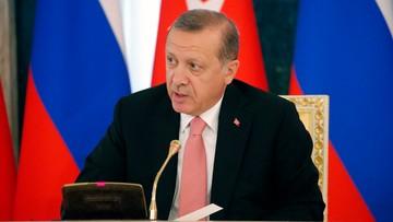 Erdogan rozczarowany brakiem wsparcia ze strony Zachodu
