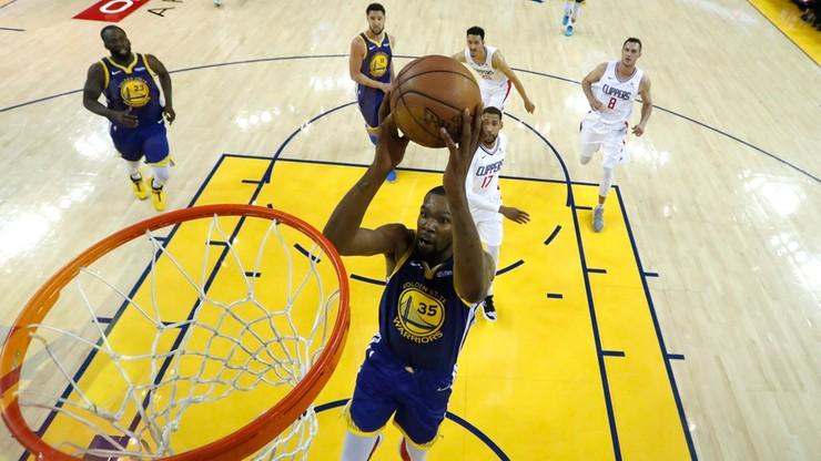 NBA: Broniący tytułu Warriors w drugiej rundzie play off