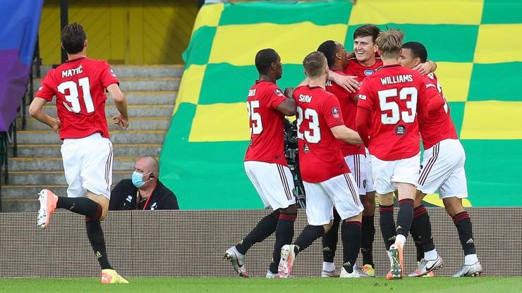 Puchar Anglii: Wymęczone zwycięstwo Manchesteru United