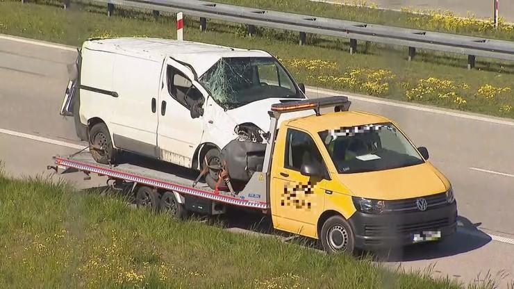 """Kierowca bmw doprowadził do kolizji na autostradzie. Jechał pod prąd """"przez pomyłkę"""""""