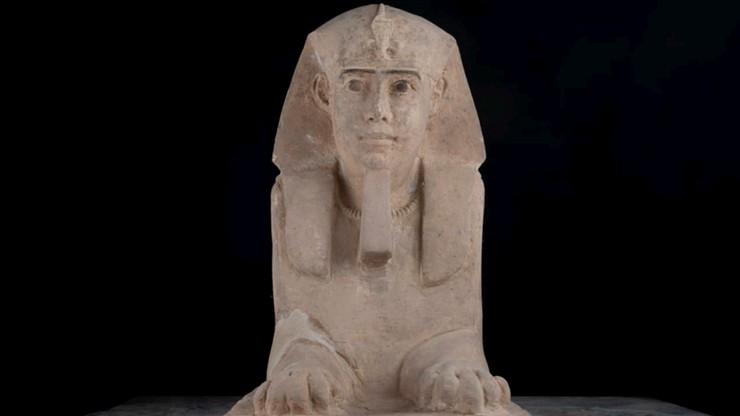 Egipscy archeolodzy znaleźli posąg sfinksa. Ma ponad 2000 lat