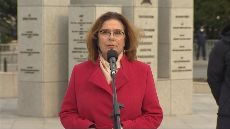 Kidawa-Błońska: całkowicie zawieszam swoją kampanię