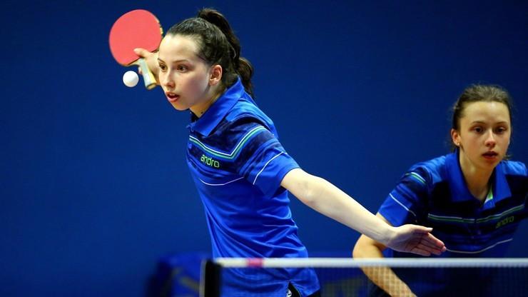 ITTF Challenge: Siostry Węgrzyn w finale debla w Mińsku